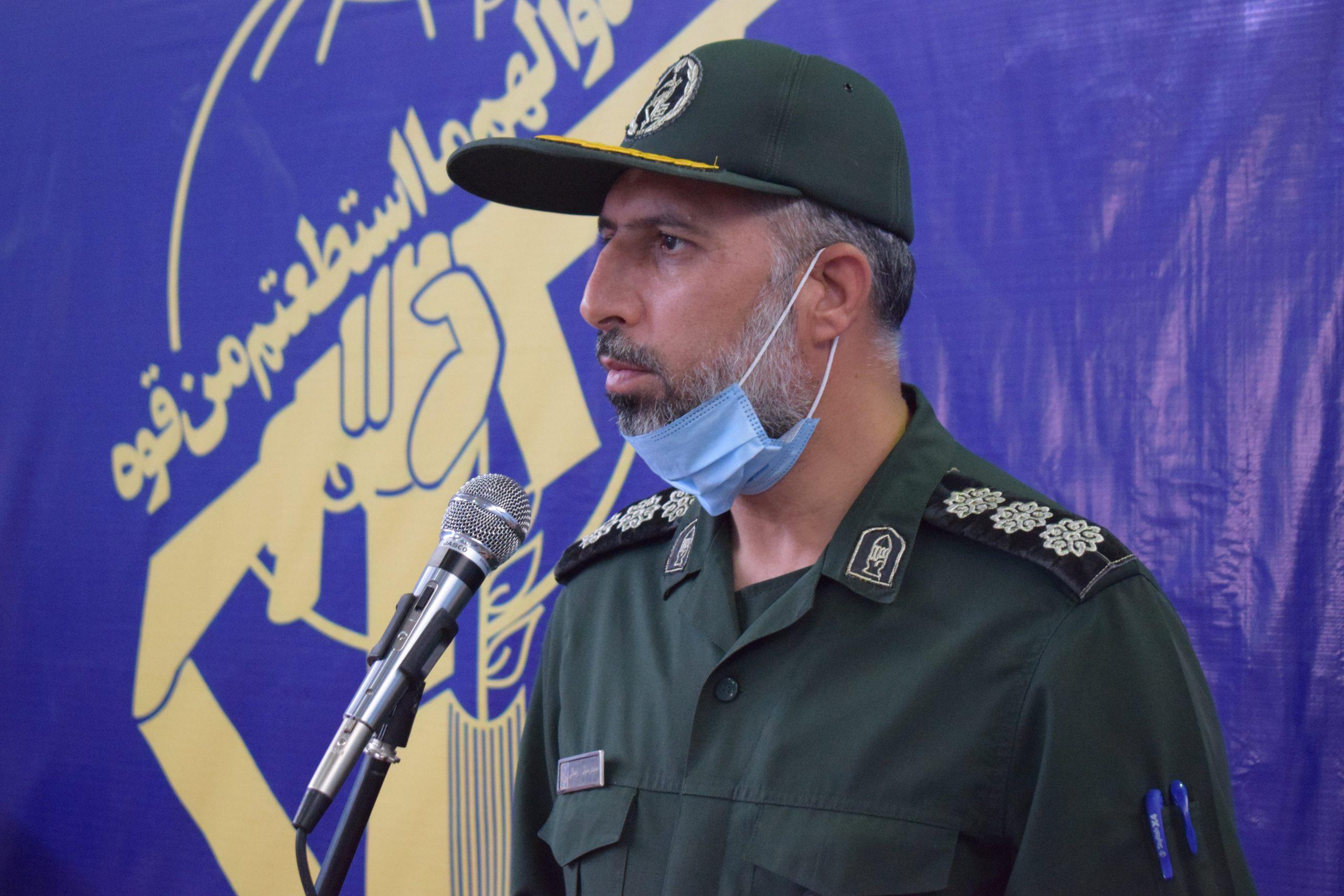 پیام فرمانده سپاه فیروزآباد به مناسبت روز قدس