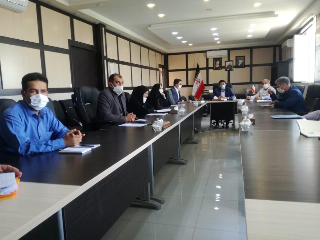 پنجمین جلسه ستاد تسهیل و رفع موانع تولید فیروزآباد برگزار شد