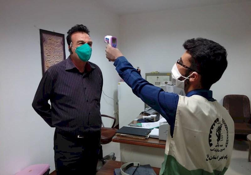 اجرای طرح پایش سلامت از سوی جهادگران دانشگاه آزاد فیروزآباد