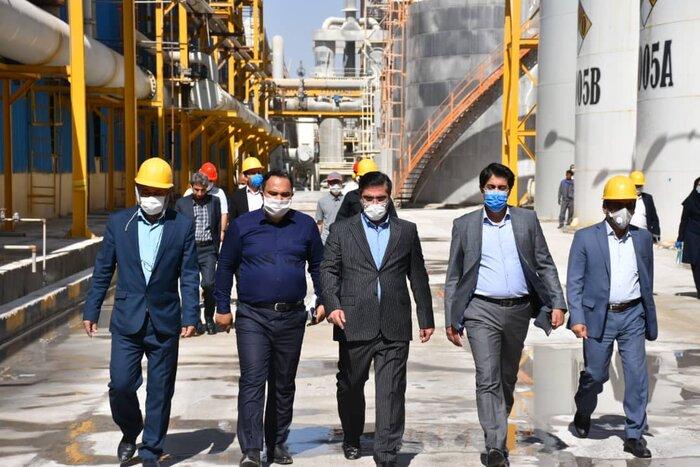 بزرگترین واحد تولید کربنات سدیم خاورمیانه در فیروزآباد افتتاح شد