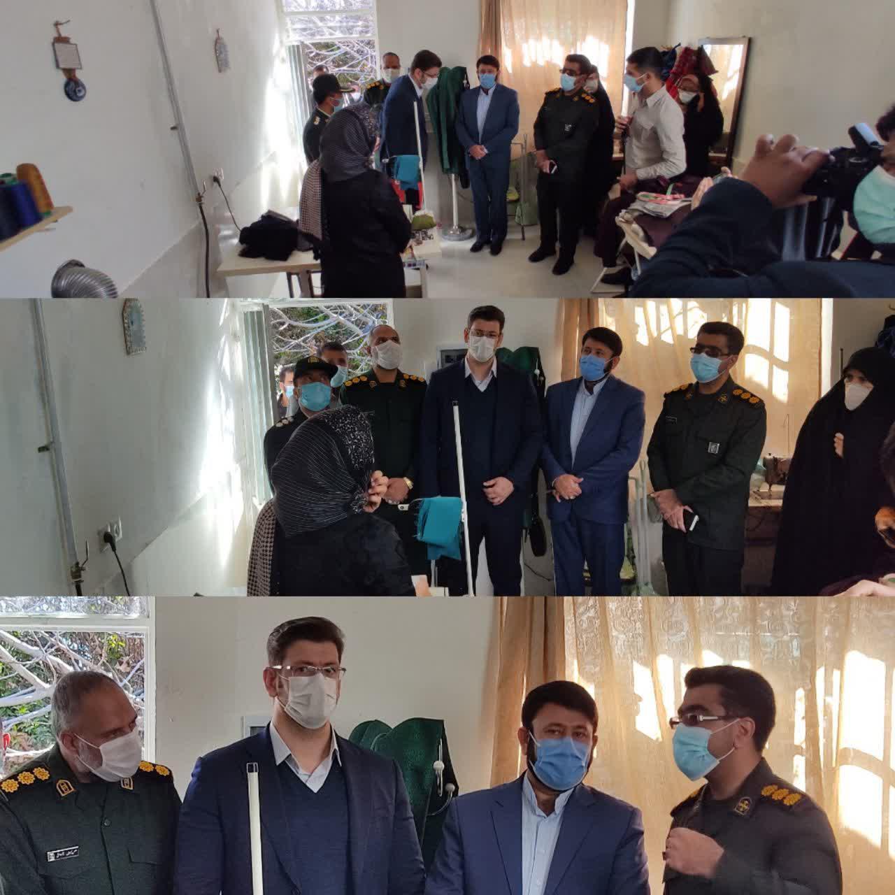 راه اندازی 120 عرصه شغلی در فیروزآباد با حمایت صندوق های قرض الحسنه محلی بسیج